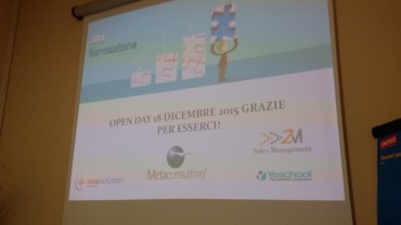 Open Day Metaconsulting: presentata la partnership con 2M Sales Management