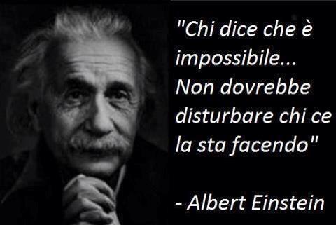 Einstein: aforisma innovazione